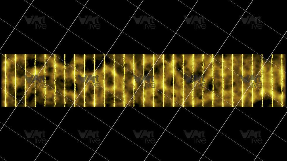 Gold Neon Lines Loop - VA-3H-0105