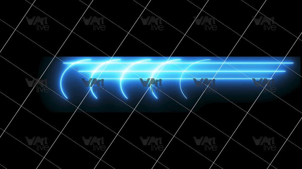 Colorful Neon Lines Loop - VA-3H-0104