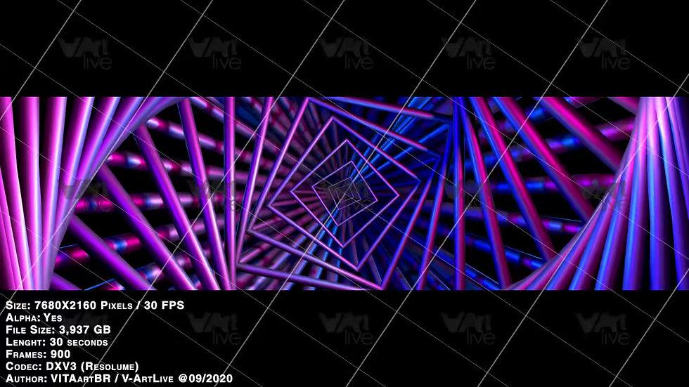 Geometric Reactive Tubes - VA-BPM0002