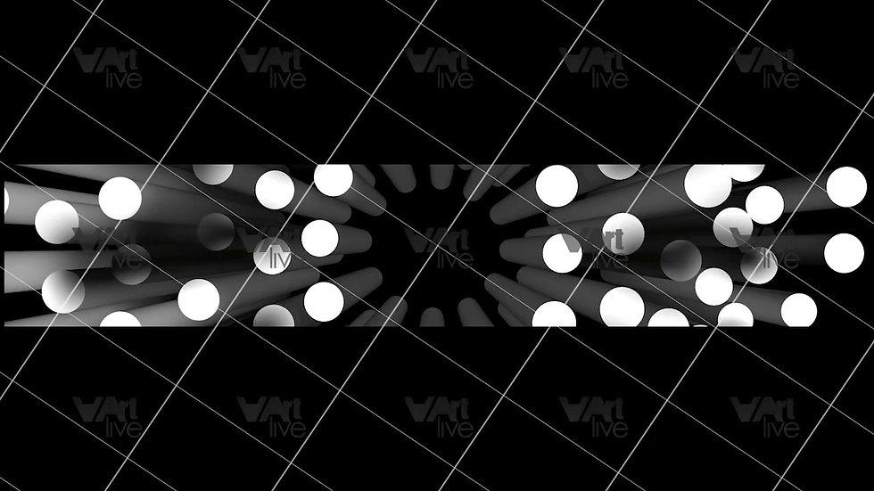 3D Geometric Shapes  Loop - VA-3H-0027