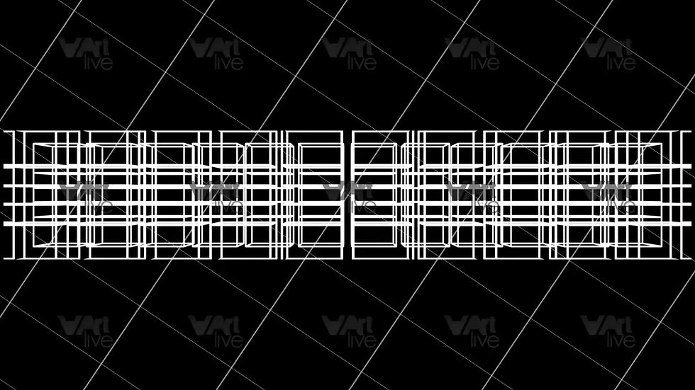 3D Geometric Shapes Loop - VA-3H-0063