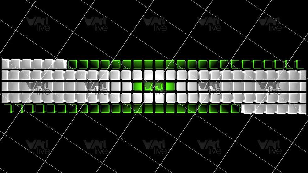 3D Geometric Shapes Colorful Loop - VA-3H-0043