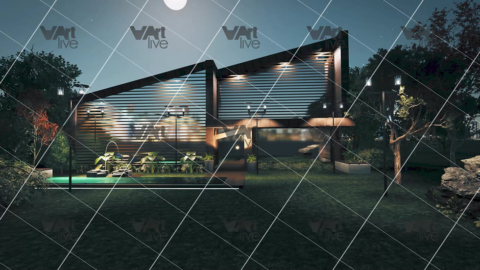 3D external architecture - VA-AR0001