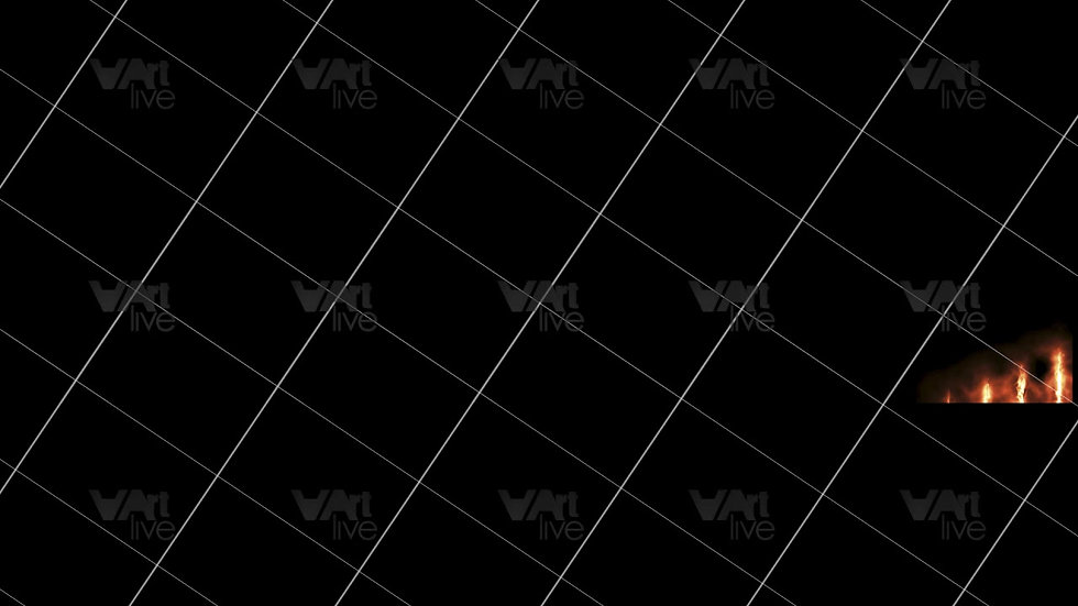 Gold Neon Lines Loop - VA-3H-0108