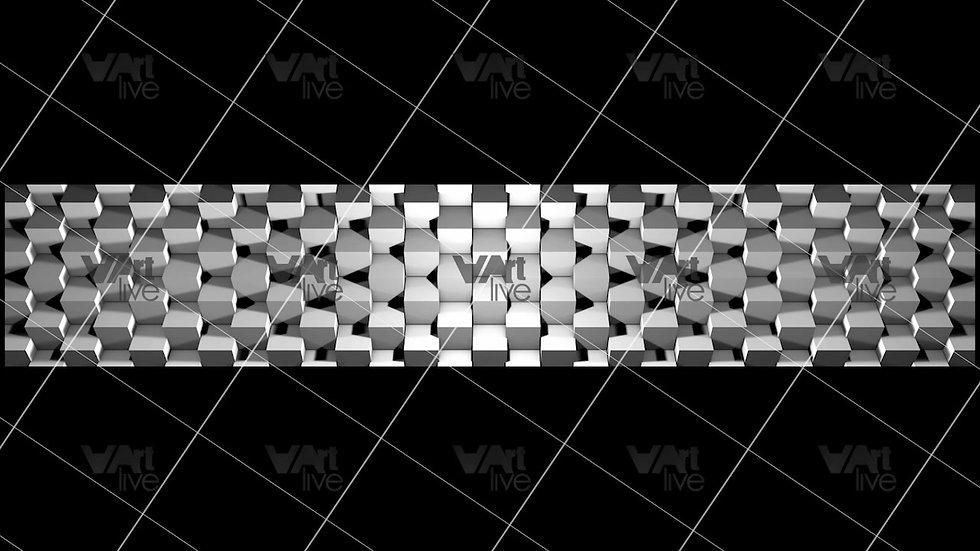 3D Geometric Shapes  Loop - VA-3H-0033