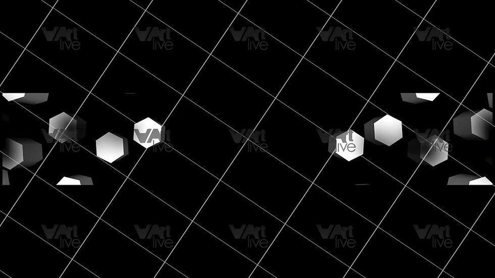 3D Geometric Shapes  Loop - VA-3H-0021