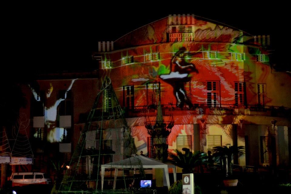 Mapping Externo - SC - Blumenau - Magia Natal 2012 - 3