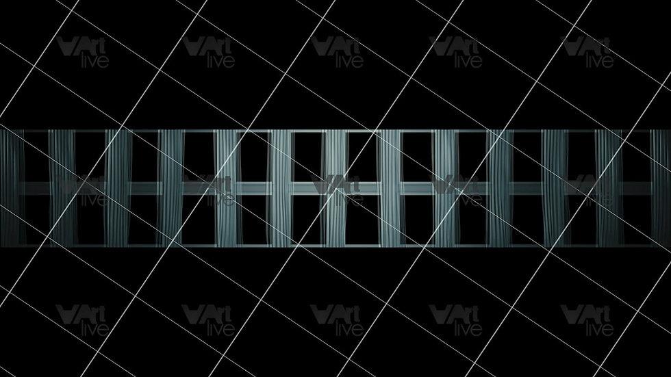 Modern Windows at Night 3D Loop - VA-NC-0039