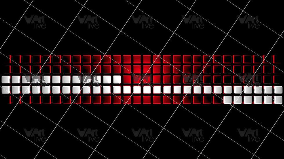 3D Geometric Shapes Colorful Loop - VA-3H-0042