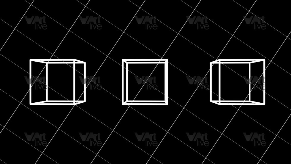3D Geometric Shapes Loop - VA-3H-0061