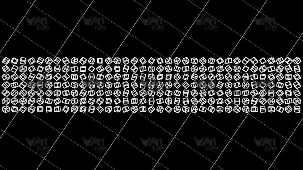 3D Geometric Shapes Loop - VA-3H-0064