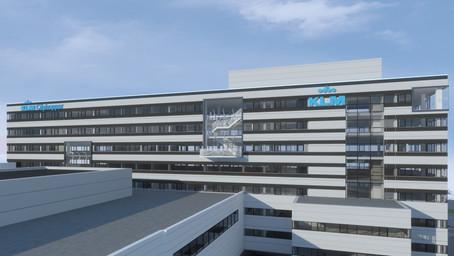 'Topside building KLM'