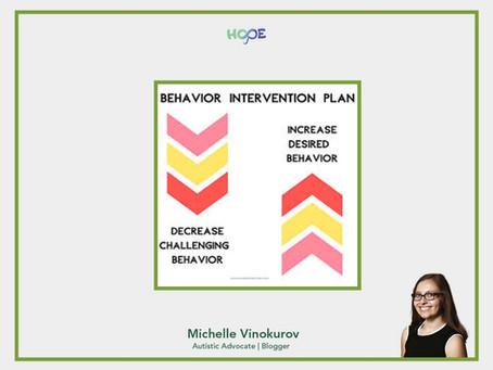 Behavior Intervention Plans