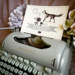 """Illustration """"Renard"""" - Sophie Barel"""