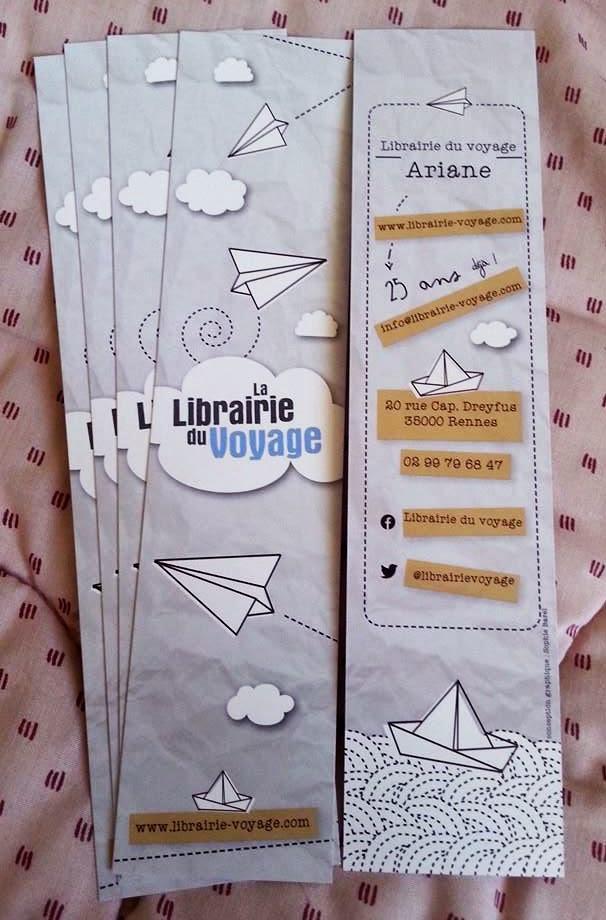 Marque-page Ariane