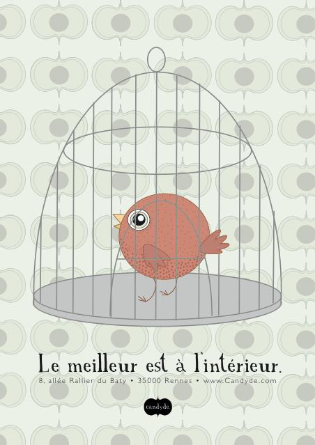 Affiche Oiseau
