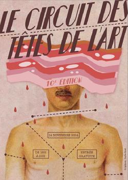 Affiche Tête de l'Art