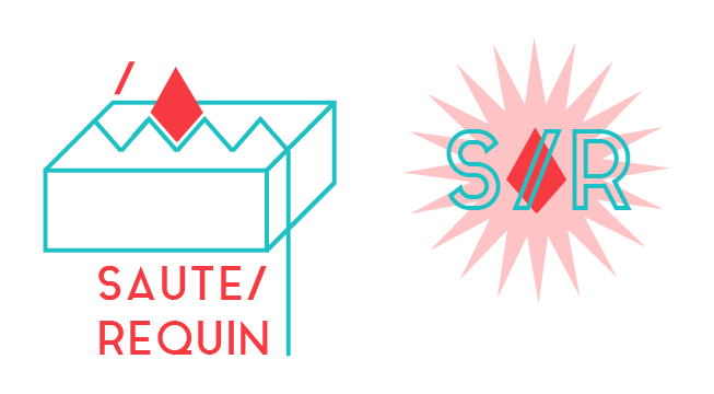 Logo + label Saute Requin