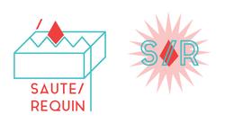 Logo + label Saute Requin