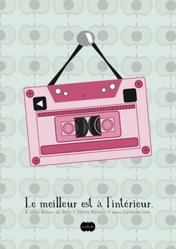Affiche Cassette