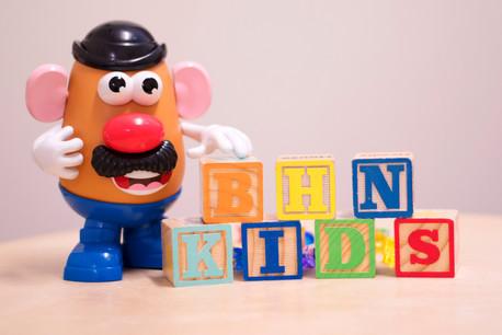 BHN Kids resident Mr. Potato Head.