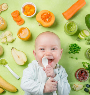 Food Allergies in Babies, and how to introduce new foods successfully!