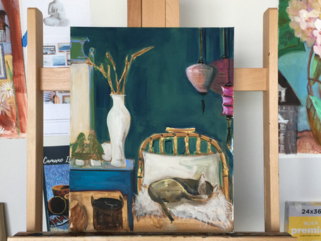 What's on my Easel