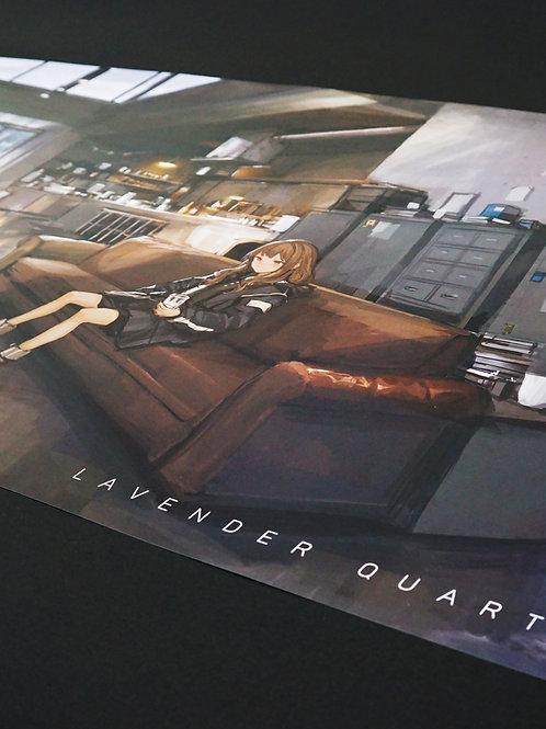 LAVENDER QUARTZ/B2 Poster [C]