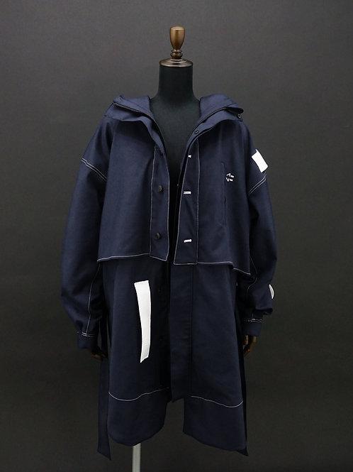 LAVENDER QUARTZ / Lana Torabishi Layered Jacket [Outer] [Pre-order]