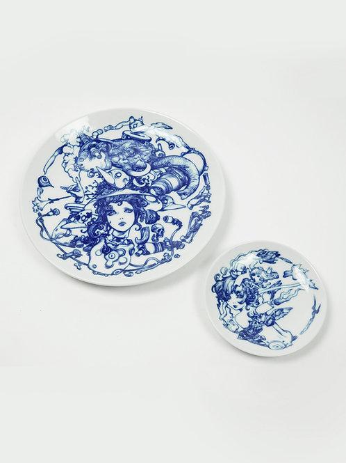 Teradaki / Ceramic Plate Combo