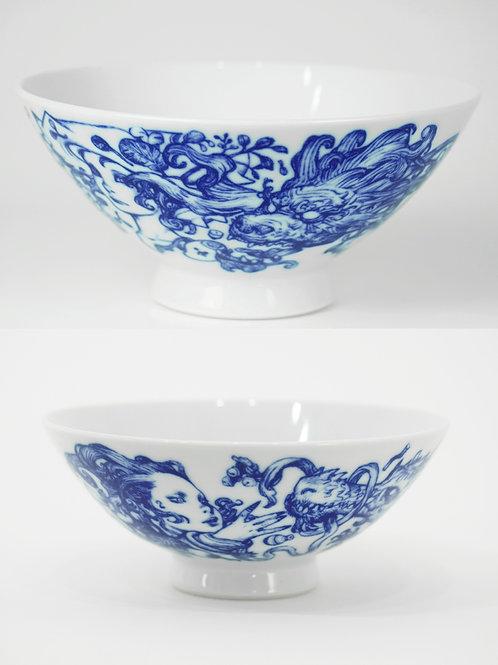 Teradaki / Ceramic Bowl Combo