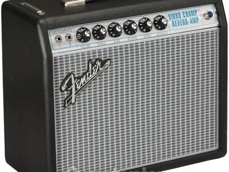 """Fender '68 Custom Vibro Champ Reverb 1 x 10"""" 5-watt Tube Combo Amp"""