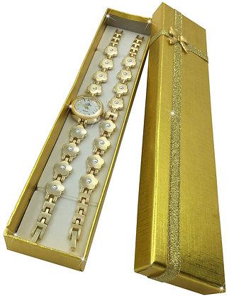Flower Bracelet (Gold)