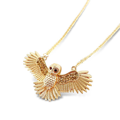 Coco Owl Necklace