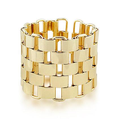 Alanis Channel Chain Bracelet