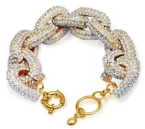 Pave Link Bracelet
