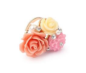 Christine Flower Ring