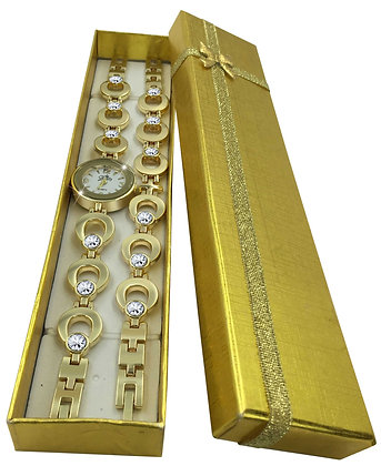 Horse Shoe Bracelet (Gold)