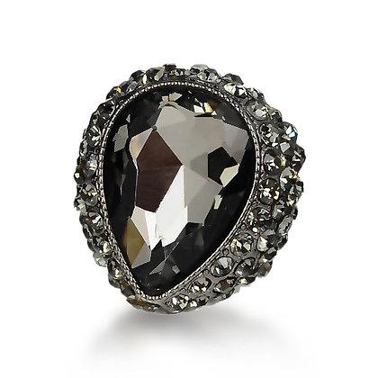 Black Omen Crystal Ring