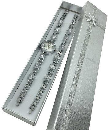 Heart Bracelet (Silver)