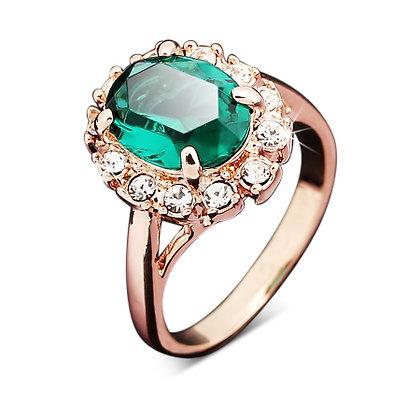 Emerald Cosette Ring