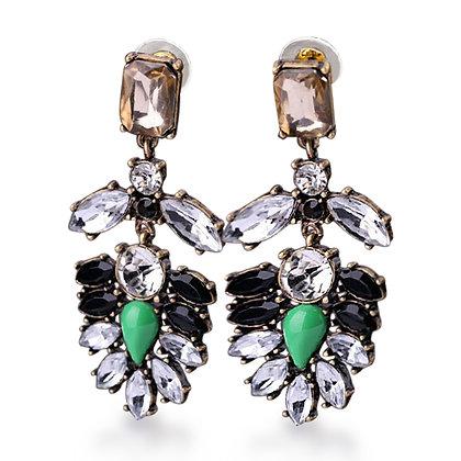 Fransicka Crystal Earrings