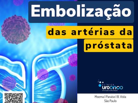 Embolização da Próstata. Vantagens e desvantagens em relação à cirurgia tradicional.