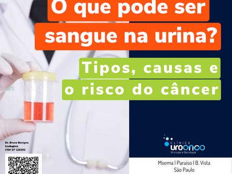 O que pode ser sangue na urina? Tipos, causas e o risco do câncer.