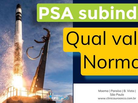 Qual o valor normal do PSA?