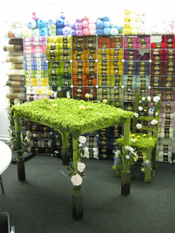 Yarn Table and Chair
