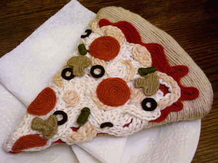Yarn Pizza Detail