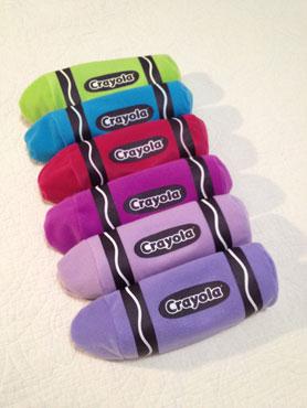 Crayola soft pencil cases
