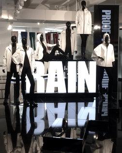 Raincoat display
