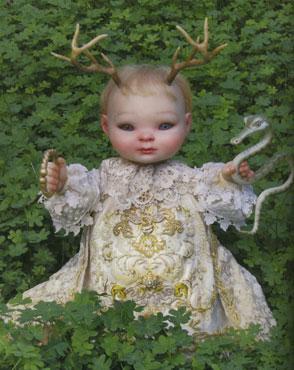 Costume for Mark Ryden Sculpture